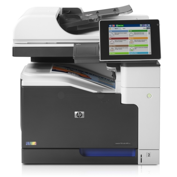 HP Color LaserJet Managed MFP M 770 Series